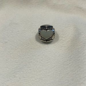 Discontinued Pandora blue pastel heart charm